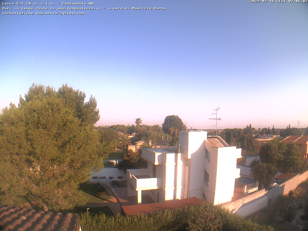 Webcam Lecce Est- Stadio Via del Mare